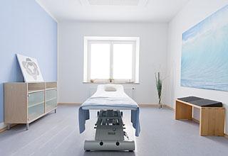Zimmer blau (Wasser)